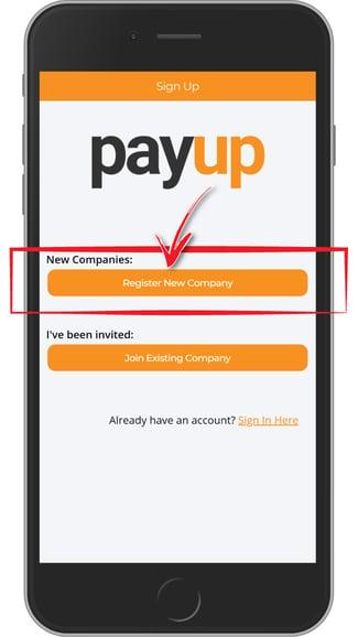 register-new-company-screen