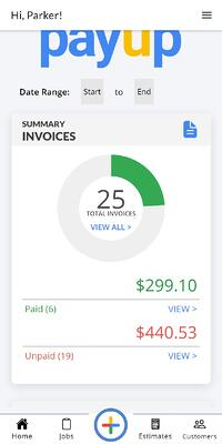 view-invoices-on-Home-screen